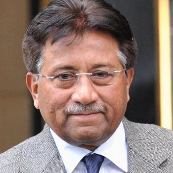 Former Pakistan president Pervez Musharraf has appeared in front of a court over a high treason case