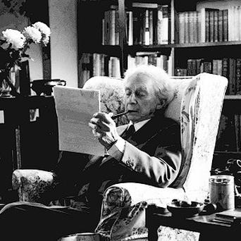 Bertrand Russell said in a 1937 letter that if the Nazis invaded Britain, they should be treated as visitors