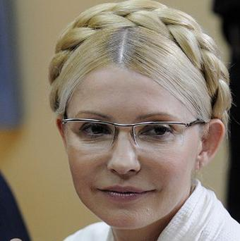 Yulia Tymoshenko has been released from prison, a party spokesman said (AP)