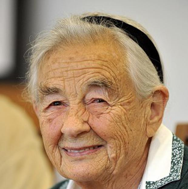 Maria von Trapp, the second-eldest girl in the Trapp Family Singers, who has died (AP)