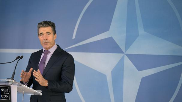 Nato secretary general Anders Fogh Rasmussen warned troops will be withdrawn from Afghanistan if a deal cannot be reached (AP Photo/Virginia Mayo)