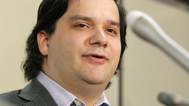 Mt Gox chief executive Mark Karpeles posted the announcement on the company's website (AP/Kyodo News)