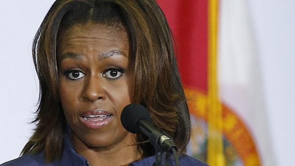 Michelle Obama will visit China later this month (AP)
