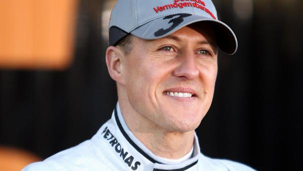 Michael Schumacher has made encouraging signs according to his agent.