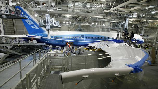 Boeing's much-delayed 787 Dreamliner has hit another production problem (AP)