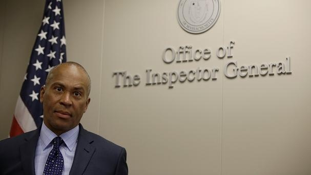 Massachusetts Governor Deval Patrick said the new 'Peeping Tom' law would close a legal loophole (AP)