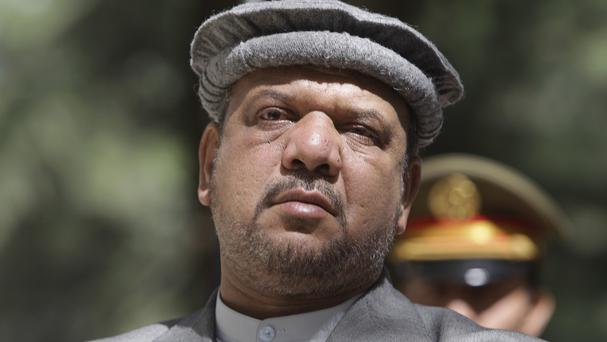 Afghanistan vice-president Field Marshal Mohammed Qasim has died (AP Photo/Kamran Jebreili, file)