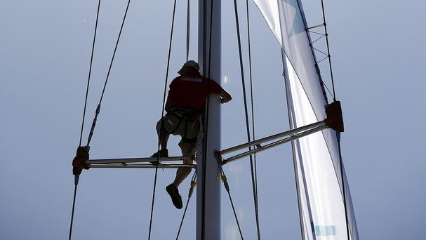 A British round-the-world yachtsman has been rescued by the Chilean navy