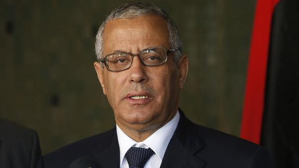 Ali Zidan has been ousted as Libyan prime minister (AP)