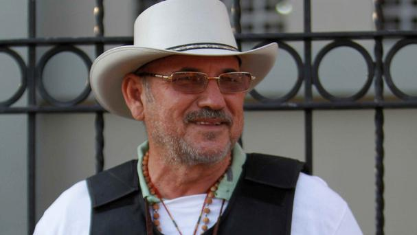 Hipolito Mora was the affable public face of Mexico's vigilante movement (AP)