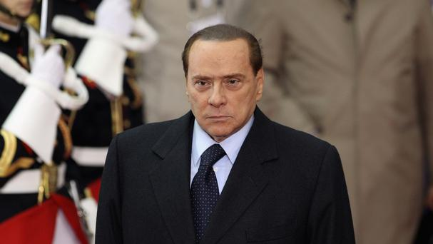 Silvio Berlusconi was convicted of tax fraud, and given a four-year prison sentence