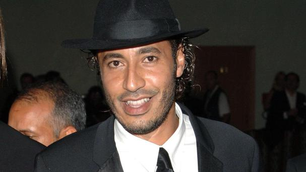 Al-Saadi Gaddafi was extradited to Libya earlier this month from Niger