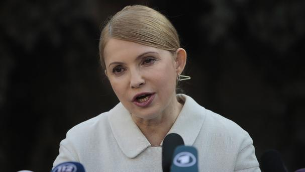 Yulia Tymoshenko has accused Viktor Yanukovych of being