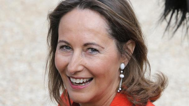 Segolene Royal, President Francois Hollande's former partner, has been named minister of environment and energy (AP)