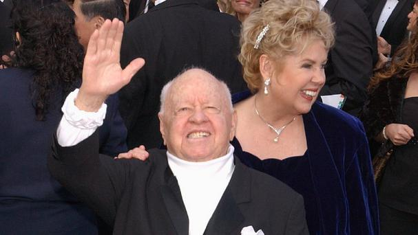 Mickey Rooney, who made his film appearance in 1926, has died aged 93