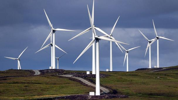 Bord na Mona and Coillte have teamed up to develop a number of projects, among them wind farms