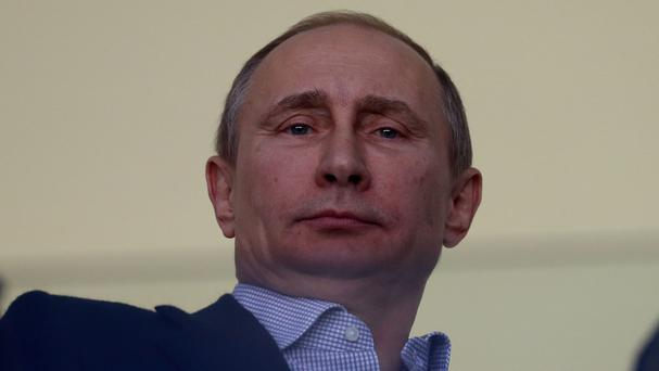 Russian President Vladimir Putin is putting pressure on Europe over gas supplies