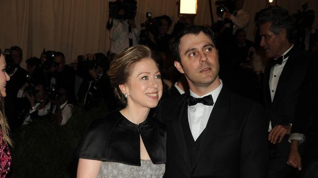 Chelsea Clinton and her husband are expecting their first child