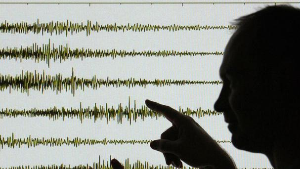 Earthquakes are common in Papua New Guinea