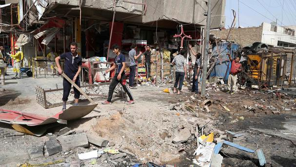 There has been an increase in violence across Iraq in recent days as the country prepares for elections (AP)