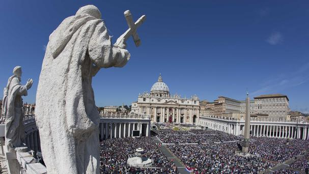 The ceremony will be broadcast from St Peter's Square
