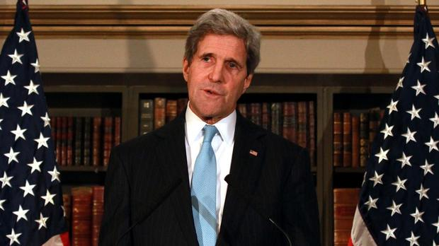 US secretary of state John Kerry has said internet access is a right