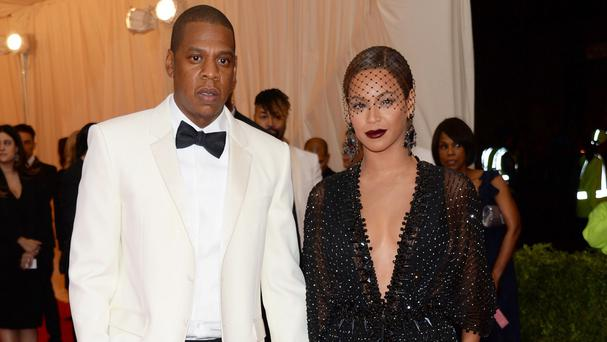 Jay Z and Beyonce at The Metropolitan Museum of Art's Costume Institute benefit gala