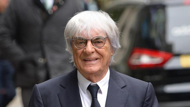 Formula 1 motorsport boss Bernie Ecclestone is on trial in Munich