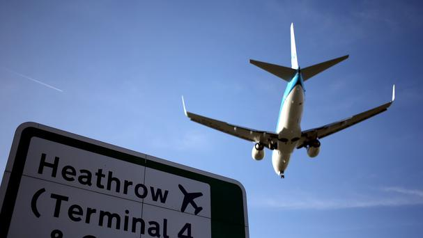 The US Airways plane eventually arrived at Heathrow Airport about four hours late