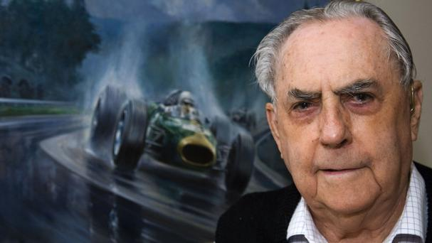 Sir Jack Brabham has died at his home on the Gold Coast, in Australia (AP)