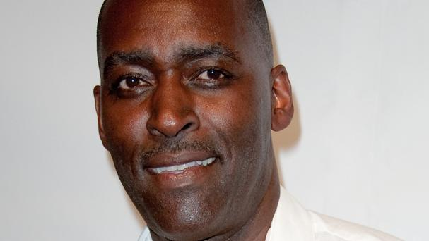 Michael Jace, pictured in 2012, has been arrested over the death of his wife (AP)