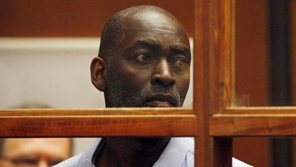 Actor Michael Jace appears in court in Los Angeles (AP)