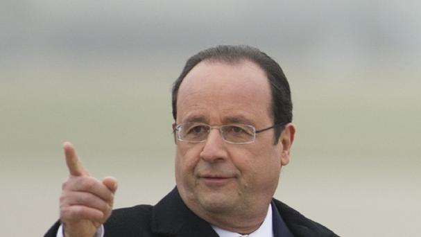 French President Francois Hollande called an emergency meeting