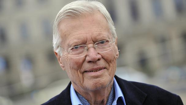 Austrian actor Karlheinz Boehm has died aged 86. (AP Photo/Gero Breloer)