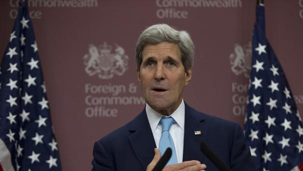 US Secretary of State John Kerry flies to Iraqi Kurdistan