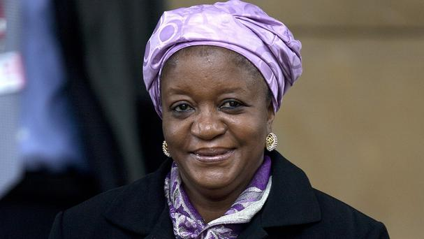 United Nations envoy Zainab Hawa Bangura says she fears captive Nigerian schoolgirls will be raped (AP)