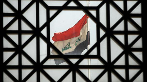 Militants who stormed a university in Iraq's Anbar province and took students hostages have withdrawn