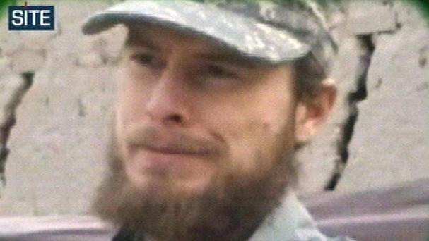 A video from the Taliban shows captured US soldier Bowe Bergdahl (AP/Site Intelligence Group)