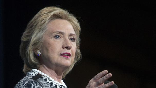 """Hillary Clinton said she feels """"emboldened"""" to run for president because of Republican criticism of her handling of terrorist attacks in Benghazi, Libya (AP)"""
