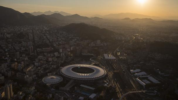 Workers at Rio's two airports are to stage a strike (AP)