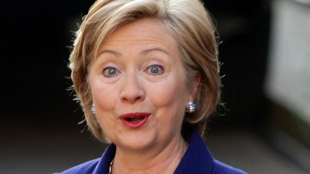 Hillary Clinton has denied that political reasons were behind her move towards supporting same-sex marriage