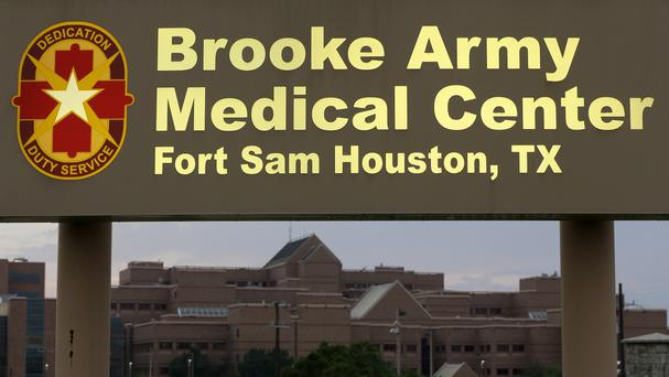 Brooke Army Medical Centre in San Antonio, Texas