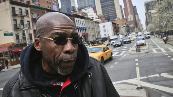 Jonathan Fleming is suing New York City after serving 25 years in jail for a murder he did not commit (AP)