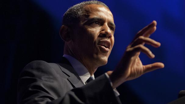 Barack Obama is to brief US Congress leaders on the Iraq crisis (AP)