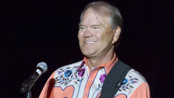 Singer Glen Campbell during his Goodbye Tour in Little Rock, Arkansas in 2012 (AP)