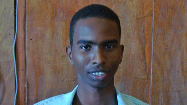 Somali journalist Yusuf Keynan, editor of Mustaqbal radio in Mogadishu, was killed when a bomb planted in his car exploded (AP Photo/Farah Abdi Warsameh)