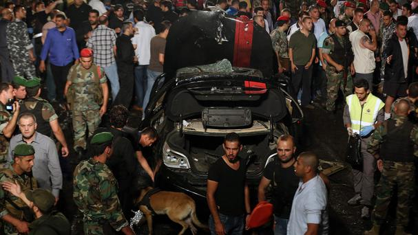 A suicide bombing in Beirut has heightened fears that Lebanon is reverting to a cycle of violence (AP)