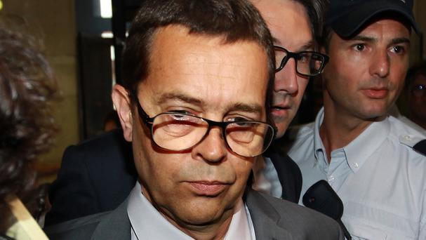 Nicolas Bonnemaison faced trial in Pau, south-west France (AP)