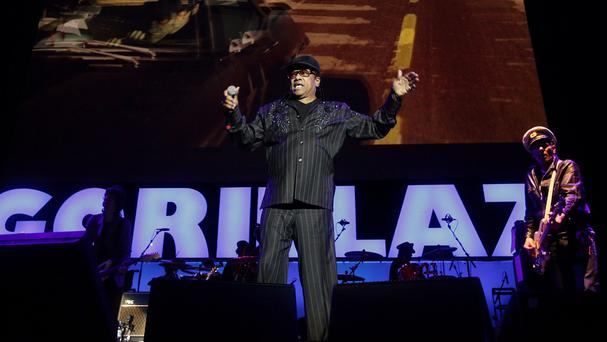 Bobby Womack - seen performing with Gorillaz at London's O2 Arena - has died aged 70