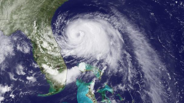 Tropical Storm Arthur has formed off the east coast of the US (AP/NOAA)